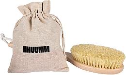 Perfumería y cosmética Cepillo de baño y masaje corporal con fibra tampico, mango extralargo - Hhuumm № 5