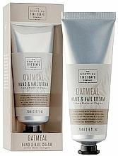 Perfumería y cosmética Crema de manos con extracto de leche de avena - Scottish Fine Soaps Oatmeal Hand & Nail Cream