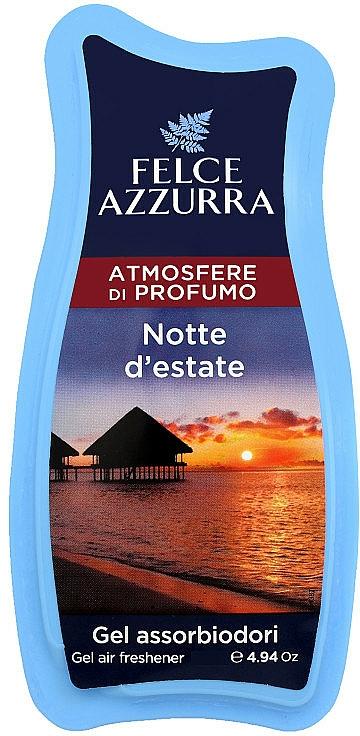 Gel absorbente de olores con aroma a rosa y jazmín - Felce Azzurra Gel Air Freshener Notte d'estate