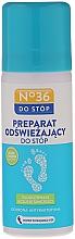 Perfumería y cosmética Spray antibacteriano para pies con aceite de árbol de té - Pharma CF No36