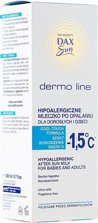 After sun hipoalergénico para bebés y adultos - DAX Sun Dermo Line Body Milk — imagen N1