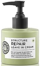 Perfumería y cosmética Crema reparadora de cabello con extracto de algas sin aclarado - Maria Nila Structure Repair Leave In Cream
