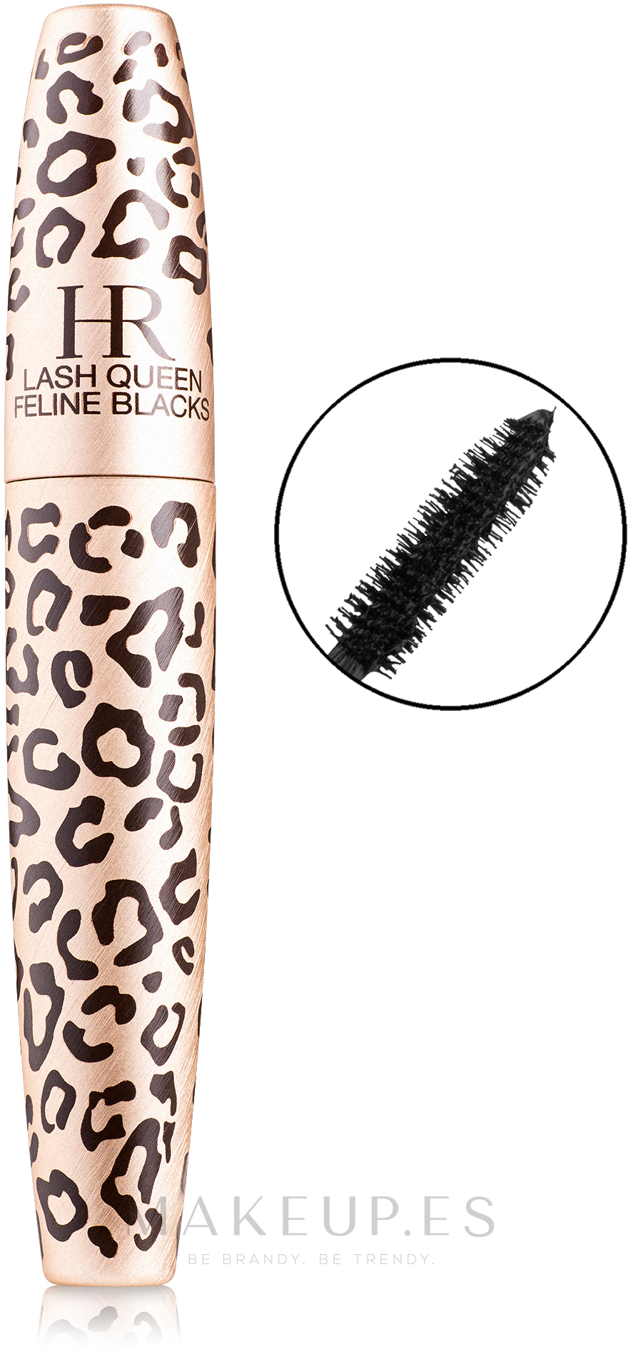 Máscara de pestañas efecto volumen & longitud - Helena Rubinstein Lash Queen Feline Blacks Mascara — imagen 01 - Black Black