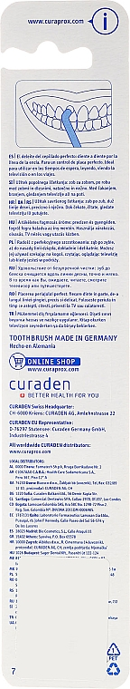 Cepillo dental unipenacho Single CS 1006, violeta - Curaprox — imagen N2