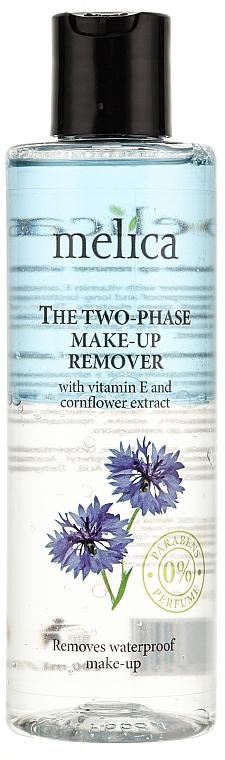 Desmaquillante facial bifásico con vitamina E y extracto de aciano - Melica Organic The Two Phase Make-Up Remover