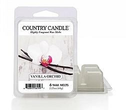 Perfumería y cosmética Cera para lámpara aromática con fragancia a vainilla y orquídea - Country Candle Vanilla Orchid Wax Melts
