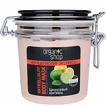 """Perfumería y cosmética Mascarilla corporal """"cóctel de cítricos"""" - Organic Shop Anticellulite Body Mask"""