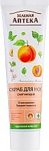 Perfumería y cosmética Exfoliante para pies con aceite de albaricoque - Green Pharmacy