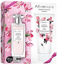 Perfumería y cosmética Allverne Cherry Blossom & Musk - Set (edp/50ml + loción corporal/200ml)