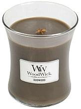 Perfumería y cosmética Vela aromática en vaso - WoodWick Hourglass Candle Oudwood