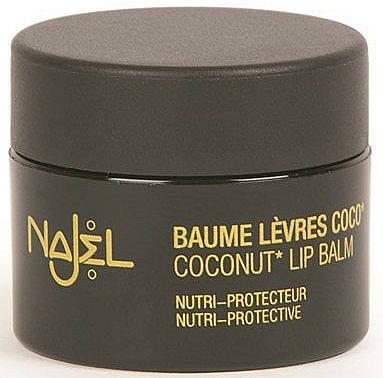 Bálsamo labial nutritivo con aceite de coco - Najel Coconut Lip Balm