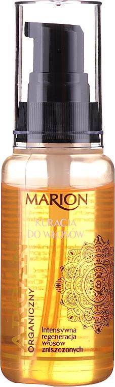 Tratamiento para cabello con aceite de argán, sin aclarado - Marion Hair Treatment With Argan Oil
