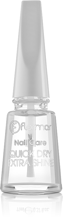 Top coat secado rápido - Flormar Nail Care Quick Dry Extra Shine