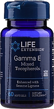 Perfumería y cosmética Complemento alimenticio en cápsulas de Tecoferoles mixtos, gamma E - Life Extension Gamma E Mixed Tocopherols