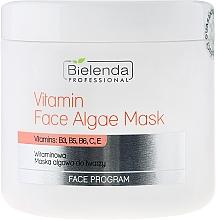 Perfumería y cosmética Mascarilla facial a base de algas y vitaminas - Bielenda Professional Program Face Vitamin Face Algae Mask