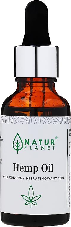 Aceite de cáñamo sin refinar - Natur Planet Hemp Oil
