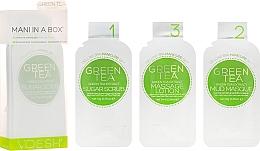 """Perfumería y cosmética Tratamiento SPA para manos y uñas """"té verde"""" - Voesh Mani In A Box Green Tea (10 g)"""