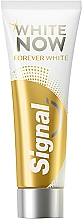 Perfumería y cosmética Pasta dental blanqueadora - Signal White Now Forever Toothpaste