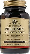 Perfumería y cosmética Complemento alimenticio curcumina - Solgar Curcumin