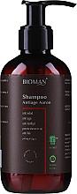 Perfumería y cosmética Champú anticaspa con extracto de malva - BioMAN Aaron Anti-Age Dandruff Shampoo