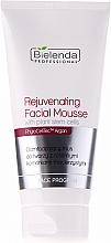 Perfumería y cosmética Mousse facial rejuvenecedora con aceite de argán y vitamina E - Bielenda Professional Face Program Rejuvenating Facial Mousse