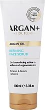 Perfumería y cosmética Exfoliante facial regenerador con aceite de argán - Argan+ Argan Oil Refining Face Scrub