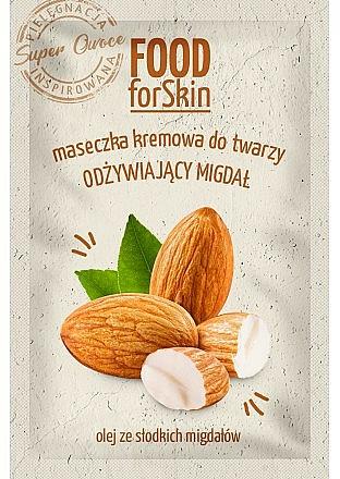 Mascarilla facial cremosa con aceite de almendras dulces - Marion Food for Skin Cream Mask Nourishing Almond