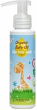 Perfumería y cosmética Aceite orgánico para bebés con Inca Inchi - Azeta Bio Organic Baby Oil Inca Inchi