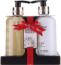 Perfumería y cosmética Set corporal mandarina & pomelo - Baylis & Harding Sweet Mandarine and Grapefruit (gel de ducha/300ml + loción/300ml)