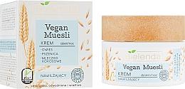 Perfumería y cosmética Crema facial de leche de coco aceite de germen de trigo y extracto de avena - Bielenda Vegan Muesli Face Cream