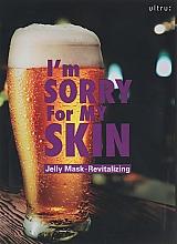 Perfumería y cosmética Mascarilla facial de gelatina revitalizante con árnica - Ultru I'm Sorry For My Skin Jelly Mask Revitalizing