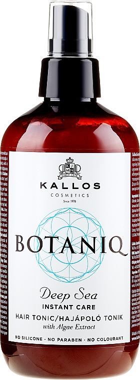 Tónico revitalizante en spray para cabello con extracto de algas - Kallos Cosmetics Botaniq Deep Sea Instant Care Hair Tonic