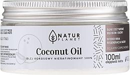 Perfumería y cosmética Aceite cosmético de coco 100% sin refinar - Natur Planet Coconut Oil