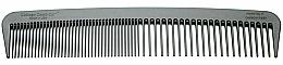 Perfumería y cosmética Peine de fibra de carbono (17,8 x 3,5cm) - Chicago Comb Co CHICA-6-CF Model № 6 Carbon Fiber