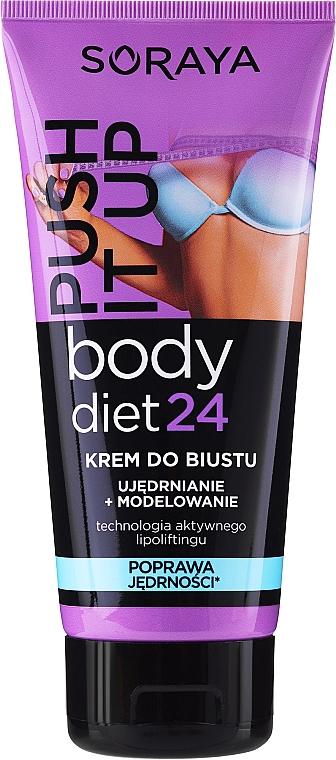 Crema para busto con betaína y colágeno natural - Soraya Body Diet 24 Bust cream