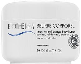 Perfumería y cosmética Manteca corporal con karité, aroma cítrico para pieles sensibles - Biotherm Beurre Corporel Intensively Hydrating Body Butter