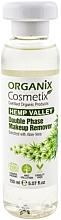 Perfumería y cosmética Desmaquillante bifásico con aloe vera - Organix Cosmetix Hemp Valley Double Phase Makeup Remover