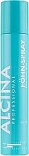Perfumería y cosmética Spray de cabello para secador, fijación ligera y brillo - Alcina Fohn-Spray