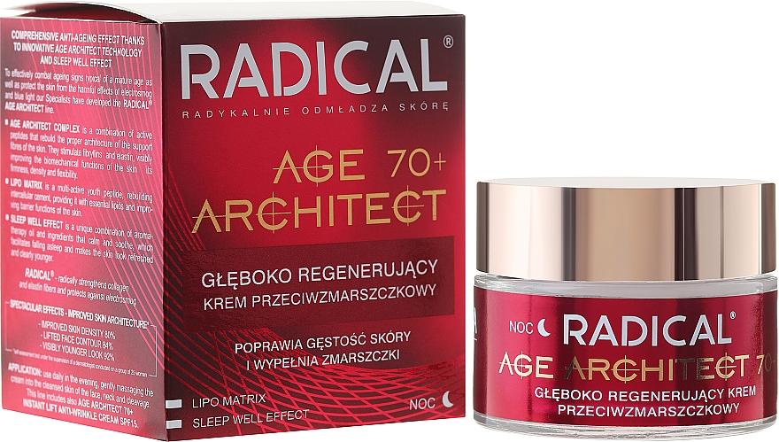 Crema facial regeneradora con aceite de coco y extracto de romero - Farmona Radical Age Architect Cream 70+ — imagen N1