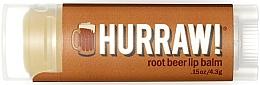 Perfumería y cosmética Bálsamo labial eco con cerveza de raíz - Hurraw! RootBeer Lip Balm