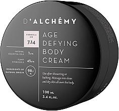 Perfumería y cosmética Crema corporal con aceite de argán y almendra dulce - D'Alchemy Age Defying Body Cream