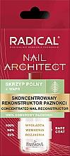 Perfumería y cosmética Concentrado reconstructor de uñas con cola de caballo y calcio - Farmona Radical Nail Architect