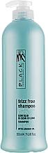 Perfumería y cosmética Champú suavizante para cabellos rebeldes y rizados con aceite de semillas de lino - Black Professional Line