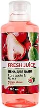 Perfumería y cosmética Espuma de baño con aroma a manzana rosa y guayaba - Fresh Juice Rose Apple and Guava