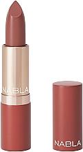 Perfumería y cosmética Barra de labios pigmentada con textura cremosa - Nabla Glam Touch Lipstick