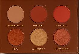 Perfumería y cosmética Paleta de sombras de ojos - Zoeva Caramel Melange Voyager