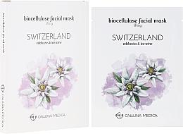 Perfumería y cosmética Mascarilla facial reafirmante de biocelulosa - Calluna Medica Switzerland Lifting Biocellulose Facial Mask