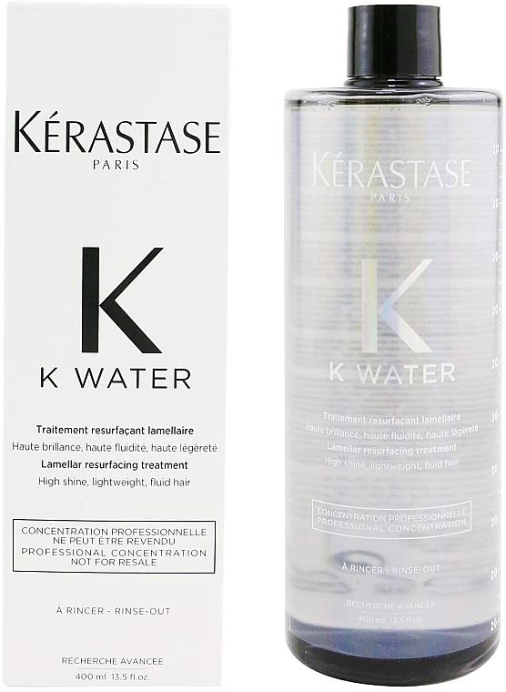 Tratamiento para cabello laminar con proteína de trigo - Kerastase K Water Lamellar Hair Treatment