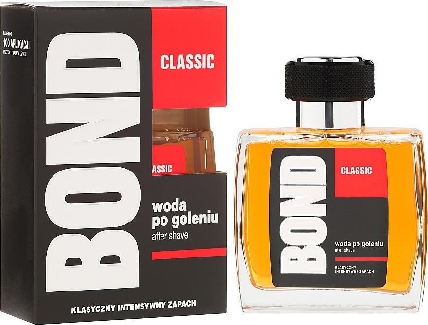 Loción aftershave con extracto de menta - Bond Classic After Shave Lotion