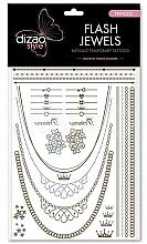 Perfumería y cosmética Tatuajes flash, Princesa - Dizao Flash Jewels